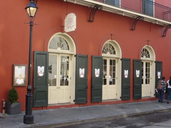 Le petit theatre du vieux carre new orleans la address for Theatre du petit miroir