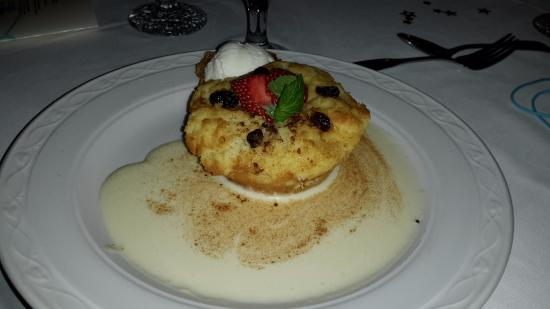 Dessert (Bread Pudding) - Picture of Champers, Christ Church Parish ...