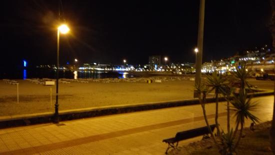 In the evening - Picture of Marine Walks, Port of Los Cristianos, Los Cristia...