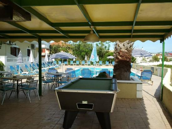 Guests Pool Table Picture Of Maria 39 S Apartments And