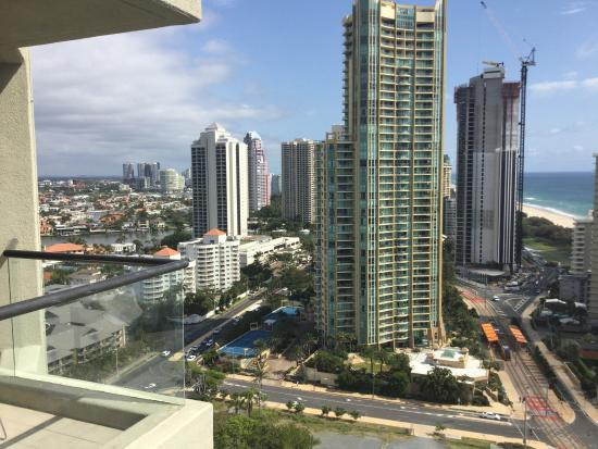 Qt View From The Balcony Picture Of Qt Gold Coast