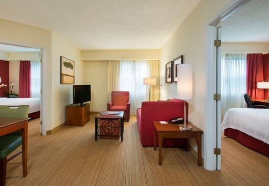 two bedroom suite picture of residence inn miami aventura mall
