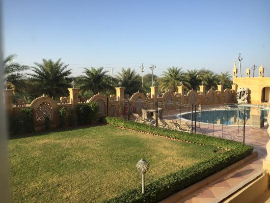 Garden Swimming Pool Picture Of Chokhi Dhani The Palace Hotel Jaisalmer Tripadvisor