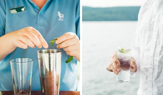 Vergennes, VT: Drinks at the lake