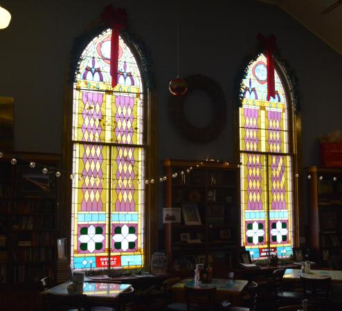 Fayetteville, WV: Beautiful Windows from the Original Church