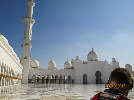 Courtyard Picture Of Sheikh Zayed Grand Mosque Center