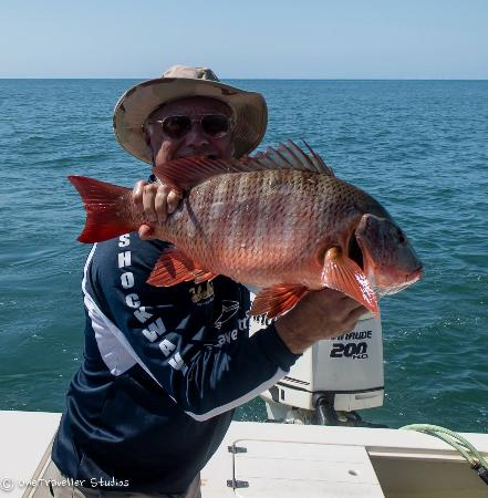 Day 2 red snapper 2 for Quepos fish adventure