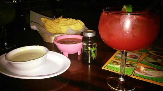 Arnold, MO: Margarita, Chips, Salsa and Cheese Dip, Fat Fighters to follow