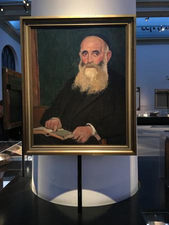 Jewish Historical Museum: A painting in the museum