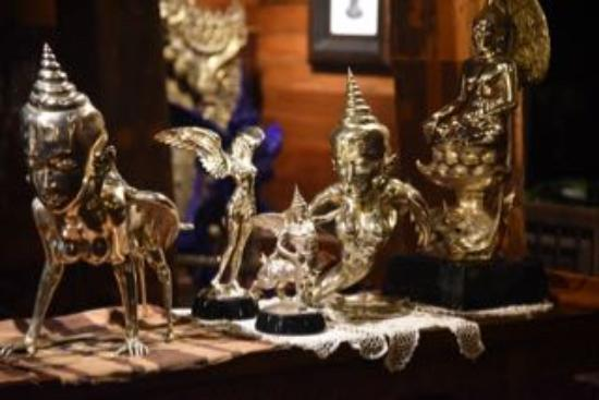 Saraphi, Thailand: some of the masterpiece artworks