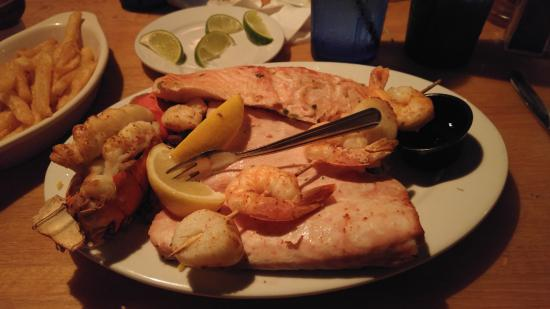 how to make a broiled seafood platter