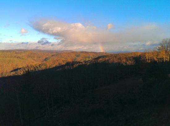 Pipestem, WV: From the Lodge Rainbow