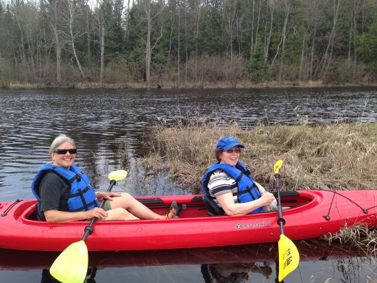 Eagle River, WI: 2 person kayaks