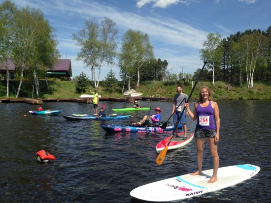 Eagle River, WI: Paddle Fest ! Memorial Weekend Kayak give away :)