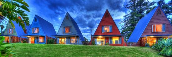 A-Frame Chalets at Mokutu