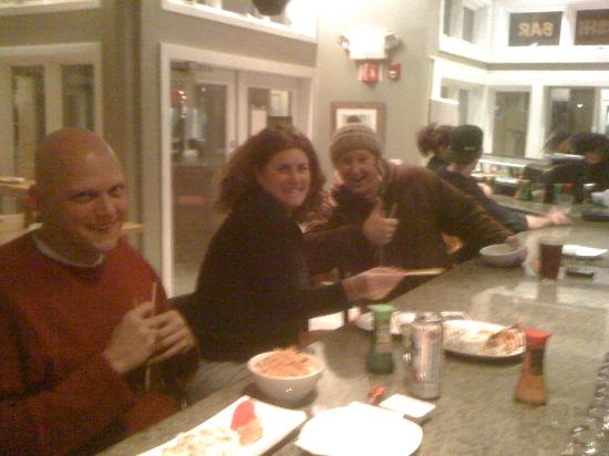 Stratton Mountain, VT: how do you like your sushi ?