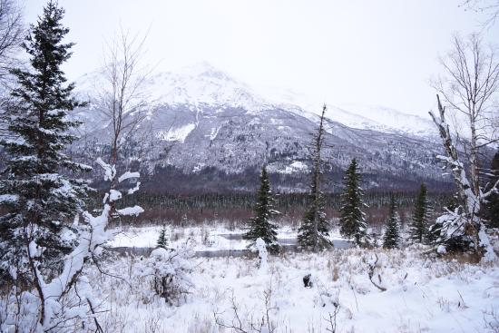 Eagle River, AK: view from trail