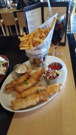 Fish and chips picture of chandler 39 s restaurant lounge for Fish restaurant carlsbad
