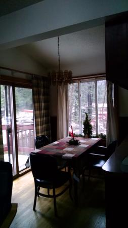 Canadensis, PA: Dining area