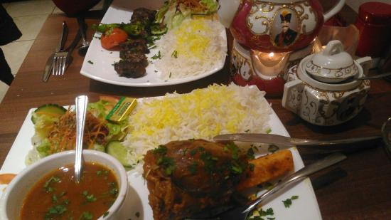 Tuck in picture of classic persian restaurant bradford for Ahmads persian cuisine
