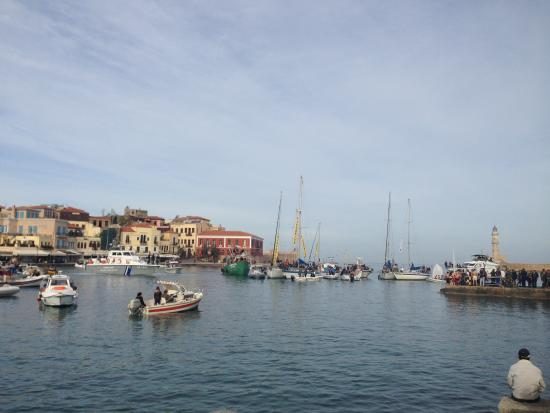 Images of Old Venetian Harbor, Chania Town - Attraction ...