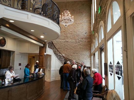 lobby picture of granbury opera house granbury