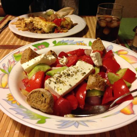 Rethymnon Prefecture, Greece: A home cooked meal!