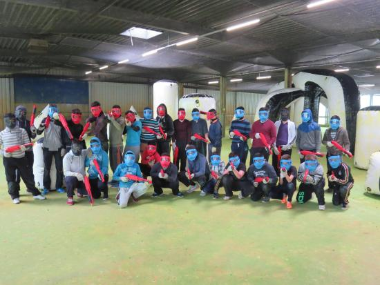 Wipperfurth, Germany: Paintball Light - ab 14!