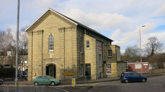 Royston, UK: The old town Hall converted