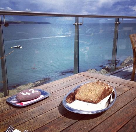 Ardmore, Ireland: Stunning sea views from the terrace
