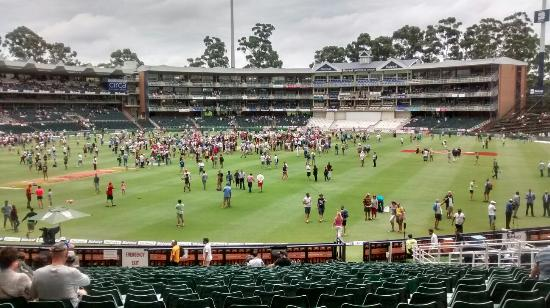 Illovo, South Africa: Pitch inspection