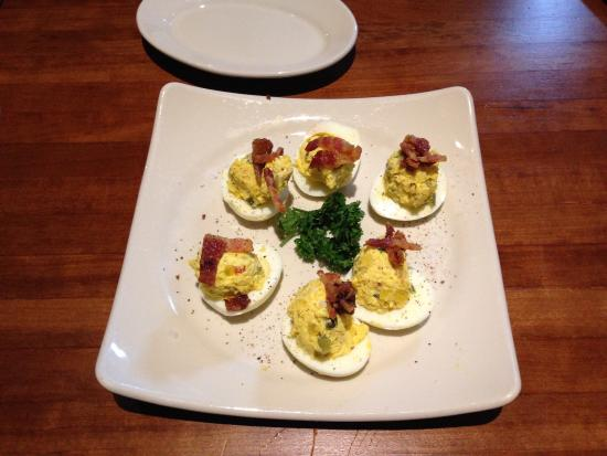 Deviled eggs picture of j alexander 39 s restaurant for Alexander s greek cuisine