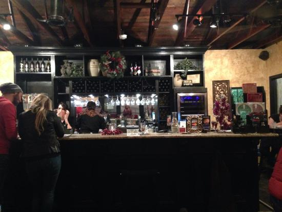 Valley View, TX: The tasting room.