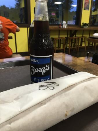 Pass Christian, MS: Roast beef po boy and Barq's ��