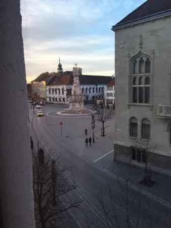 Odan N Manzaras View From The Room Picture Of Hilton Budapest Castle District Budapest