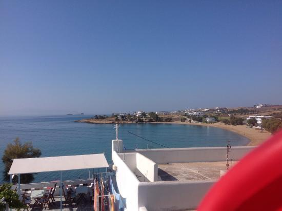 Logaras, Greece: View from the large back room