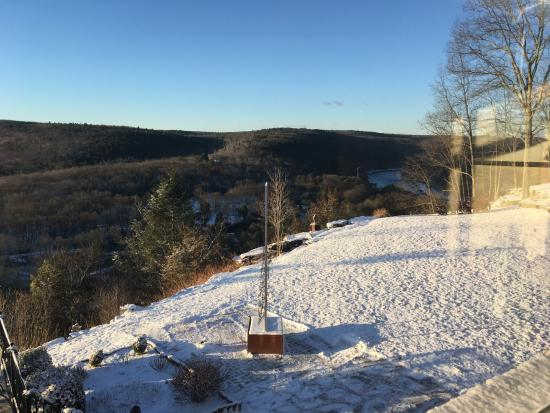 Barryville, NY: A view from Sunset II Room