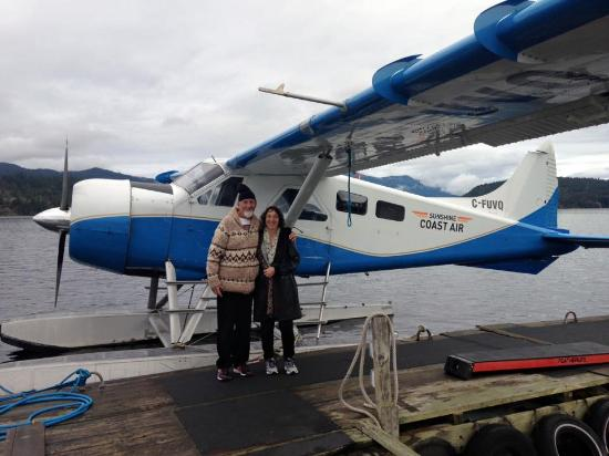 """Sechelt, Canada: """"Us"""" starting our adventure"""