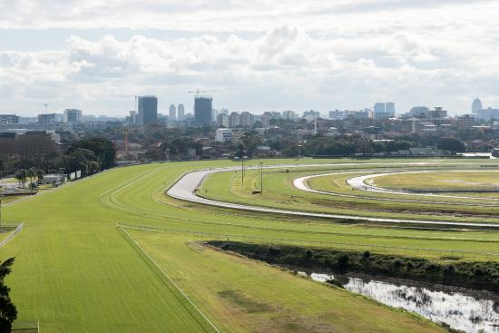 Kensington, Australia: Racecourse Space