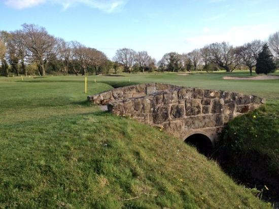 Wirral, UK: The 1st Hole