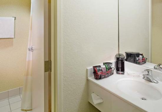 Guest bathroom picture of fairfield inn suites by for 7090 cypress terrace fort myers