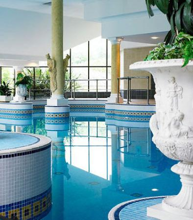 Indoor Pool Picture Of Manchester Airport Marriott Hotel Hale Tripadvisor