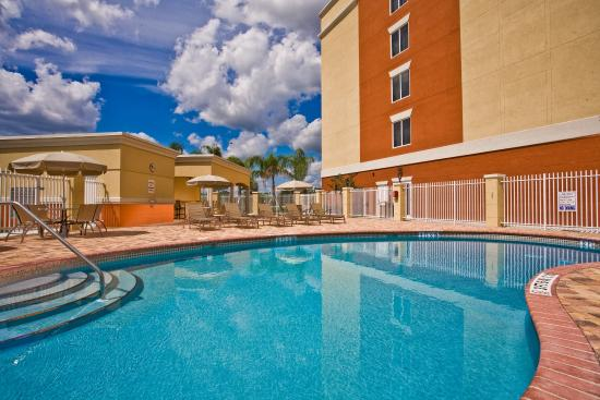 Swimming Pool Picture Of Holiday Inn Express Hotel Suites Port St Lucie West Port Saint