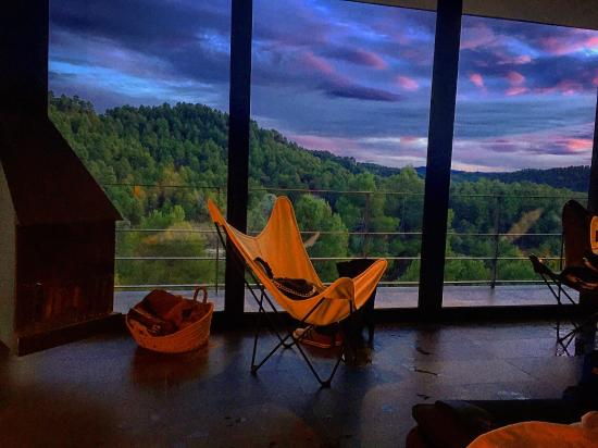 Monroyo, Spain: Total relaxation in the Kube.