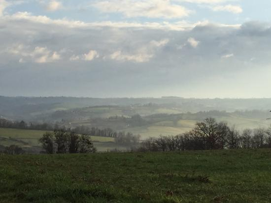 La Fouillade, France: A view a few minutes walk from gite