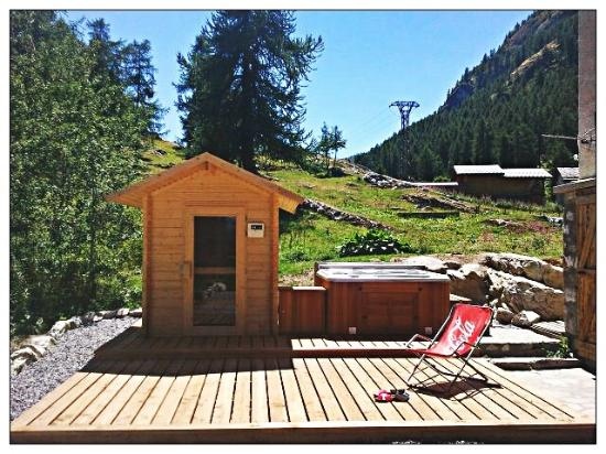 tub and sauna at les melezes picture of chalet hotel les melezes tignes tripadvisor
