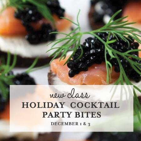 Wellesley, MA: Holiday Cocktail Party Bites