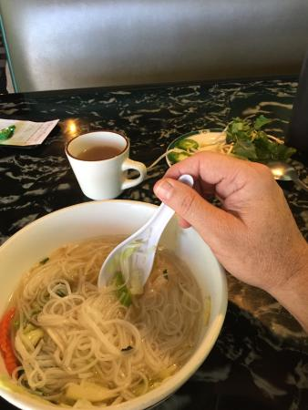 Happy Valley, OR: Good noodle soup