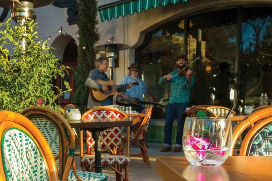 Tucson, AZ: During parts of the year when most of the country is shivering, we're still dining on the patio,
