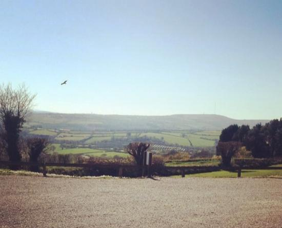 Callington, UK: A view to enjoy your food with